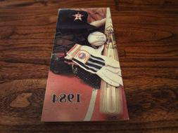 1984 Houston Astros Official Press Media Guide Team Baseball