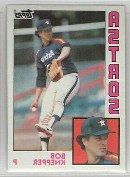 1984 topps baseball houston astros team set