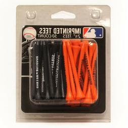 MLB Houston Astros Packs Of 50 Golf Tees - 2-3/4''.