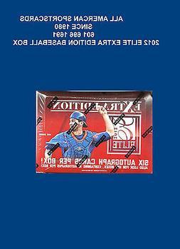 2012 PANINI ELITE EXTRA EDITION BASEBALL FACTORY SEALED HOBB
