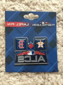 2018 MLB ALCS PLAYOFFS  PIN HOUSTON ASTROS vs BOSTON RED SOX