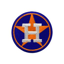 2019 MLB Houston Astros Fan Sign DIY Embroidered on patch cl