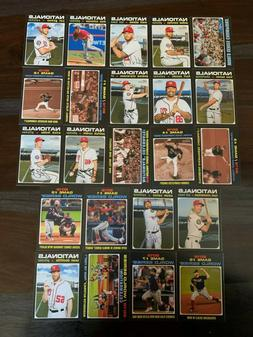 2020 TOPPS HERITAGE BASE TEAM SET - PICK THE TEAM YOU NEED F