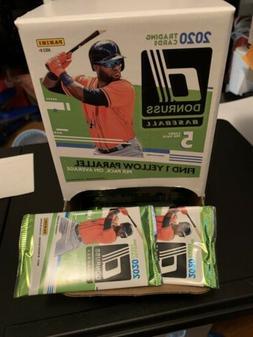 2020 Donruss Baseball Box Set - 5 Cards Per Pack - Panini Ne