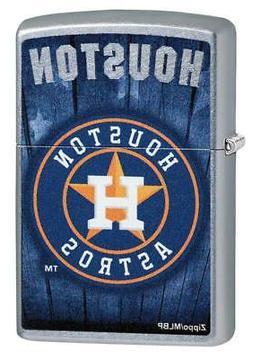 Zippo 29968, Houston Astros Lighter, MLB, Street Chrome Ligh