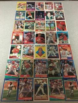 35 Card Team Lots Semi-stars/commons Many card manufacturers