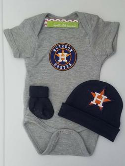 Astros infant/baby clothes Astros baby shower gift Astros ne