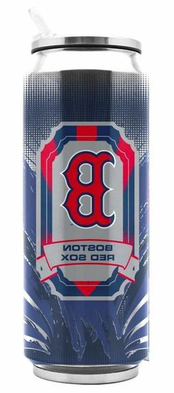 Boston Red Sox Stainless Steel Thermo Can - 16.9 ounces Trav