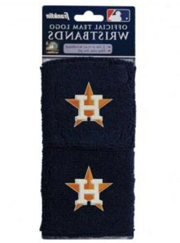 Brand New Houston Astros Wristbands Sweatbands Two Pack Blue