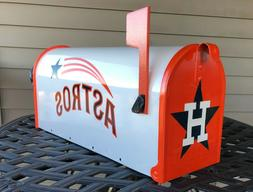 Custom Airbrushed Houston Astros Mailbox - ALL paint, not de