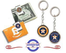 FREE DESIGN > HOUSTON ASTROS - Money/Gift Card Clip or Keyri