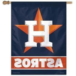 HOUSTON ASTROS ~  Official MLB 27x37 Outdoor House Flag Bann