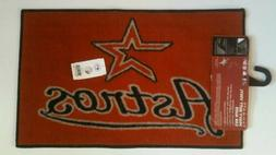 "Houston Astros 18"" X 29 1/4"" Area Rug Floor Mat NEW by Fan M"