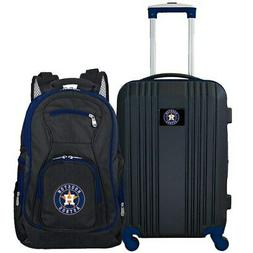 Houston Astros 2-Piece Luggage & Backpack Set - Black