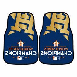 Houston Astros 2017 World Series Champions 2-Piece Carpet Ca
