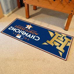 "Houston Astros 2017 World Series Champions 30"" X 72"" Basebal"