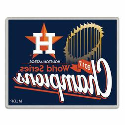 HOUSTON ASTROS 2017 WORLD SERIES CHAMPIONS COLLECTOR PIN NEW