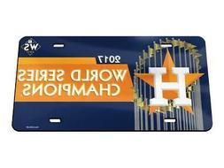 Houston Astros 2017 World Series Champions Crystal Mirror Li