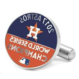 Houston Astros 2017 World Series Champions Cufflinks - Navy
