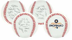 Houston Astros 2017 World Series Champions Rawlings Roster M