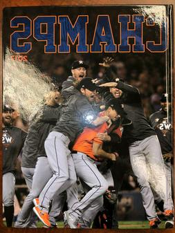 HOUSTON ASTROS - 2017 World Series Champs HARDCOVER Collecto