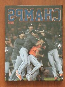 Houston Astros 2017 World Series Champs hardcover book gloss