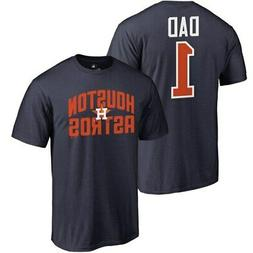 Fanatics Branded Houston Astros Navy 2019 Father's Day Numbe
