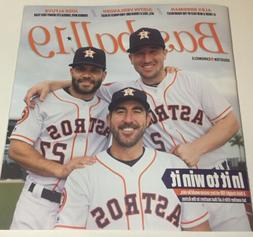 HOUSTON ASTROS 2019 MLB Season  Colorful 62 Page Chronicle N
