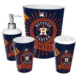 Houston Astros The Northwest Company 4-Piece Bath Set
