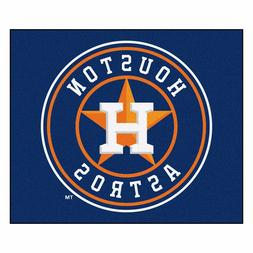 Houston Astros 5' X 6' Tailgater Area Rug Floor Mat