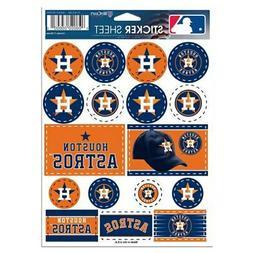 WinCraft Houston Astros 5'' x 7'' Sticker Sheet