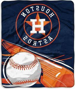 "Houston Astros 50"" by 60"" Raschel Throw Blanket - MLB Big St"