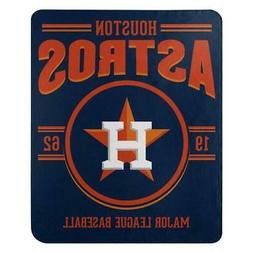 Houston Astros 50x60 Fleece Southpaw Design Blanket  MLB Thr