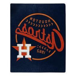 Houston Astros 50x60 Raschel Moonshot Design Blanket  MLB Th