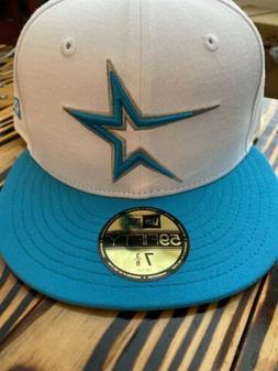 Houston Astros New Era 59Fifty Teal Visor Hat