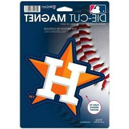 "Houston Astros WinCraft 6"" x 9"" Car Magnet"