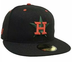 New Era Houston Astros 7 3/4 Fitted Hat MLB Mexican Night Ba