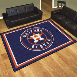 Houston Astros 8' X 10' Decorative Ultra Plush Carpet Area R