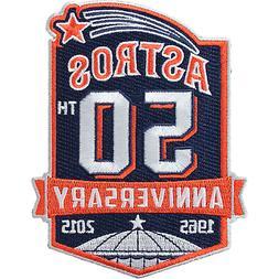 Houston Astros 50th Anniversary 1965-2015 Baseball Jersey Sl