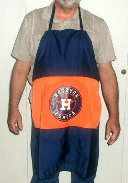 Houston Astros Baseball Apron for BBQ Grilling or Tailgate P