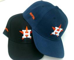 Houston Astros Baseball Cap Hat Black Navy Blue One Size New