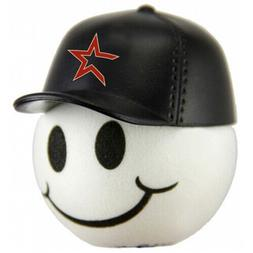 Houston Astros Baseball Cap Head Car Antenna Ball / Desktop