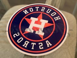 Houston Astros Baseball Team Logo MLB Sticker Decal Vinyl #F