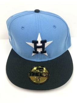 Houston Astros Cap Hat New Era 59Fifty Fitted Sz 7 3/8 Coope