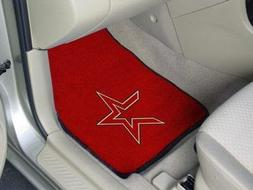 "Houston Astros 2-piece Carpeted Car Mats 18""x27"