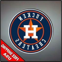 """Houston Astros Cheaters Offensive Custom Decal 4"""" sticker LO"""