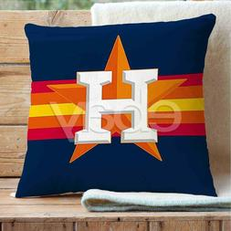 Houston Astros Custom Pillows Car Sofa Bed Home Decor Cushio