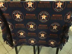 Houston Astros Decorative fringed throw