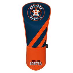 HOUSTON ASTROS EMBROIDERED DRIVER HEADCOVER INDIVIDUAL NEW W