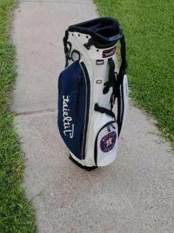 Houston Astros Titleist Golf Bag